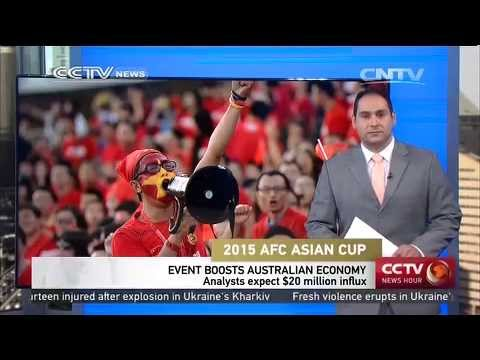 2015 AFC Asian Cup boosts Australian economy