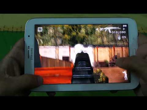 Samsung Galaxy Note 8 Battle Field Bad Company 2 Gameplay With FPS Meter