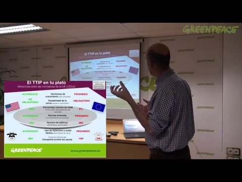 Formación TTIP en la oficina de Greenpeace | TTIP training in Greenpeace Office