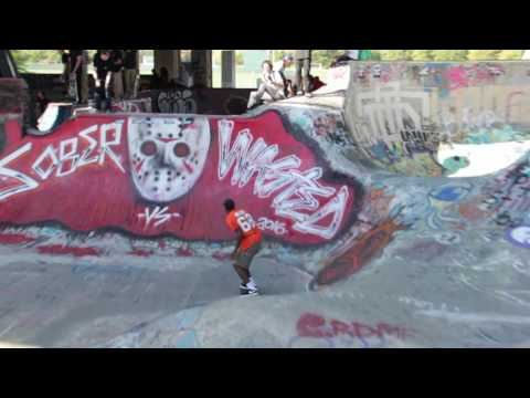 fdr skatepark sober vs wasted 2016