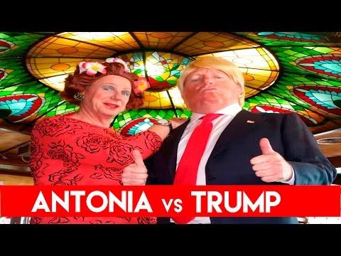 ANTONIA vs TRUMP | Los Morancos