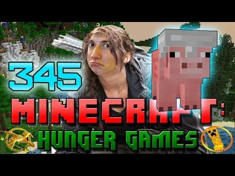 Minecraft: Hunger Games w/Mitch! Game 345 - BEST PIGGY MODE KILL! FUNNY!