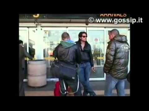 Veronica Ciardi on GossipTV – marzo 2010 – Arrivo a Linate con ex concorrenti GF10