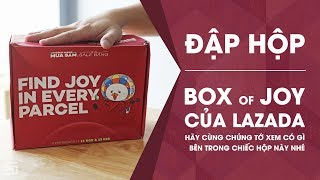 Lazada Box of Joy - Let's see what's going on!