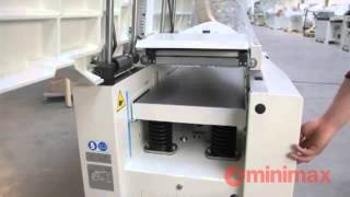 Minimax FS41 Elite Planer Thicknesser | Scott+Sargeant Woodworking Machinery | scosarg.com