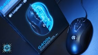 Logitech G400s Gaming Mouse Unboxing & Overview
