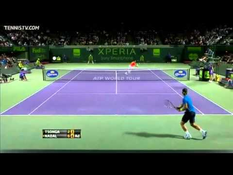 Nadal vs Tsonga - Miami 2012 - Highlights