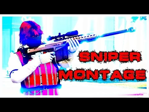 (GTA 5 Online) 2 Bodies vs 1 Sniper | Montage