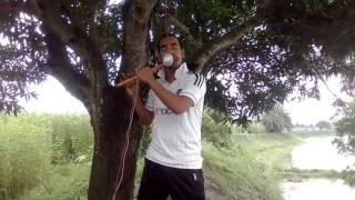 Download বাশিতে মন কাড়া জাতীয় সংগীত, বাজালেন শিল্পি  এস আর রিকু। যশোর। 3Gp Mp4