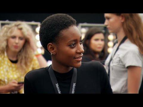Latanya met Kim op de FashionWeek catwalk! - HOLLAND'S NEXT TOP MODEL