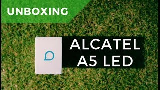 Unboxing Alcatel A5 LED en español