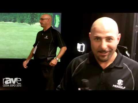 CEDIA 2015: High Definition Golf Demos Its HD Golf Simulator
