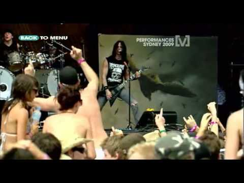 Bullet For My Valentine - Tears Dont Fall(live) Big Day Out 2009 video