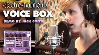 Voice Box - Video by Jack Conte - Vocal Harmony Machine/ Vocoder