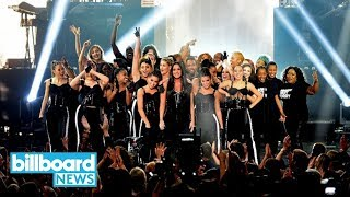 Download Lagu AMAs 2017: Demi Lovato Performs 'Sorry Not Sorry' | Billboard News Gratis STAFABAND