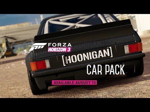Forza Horizon 3 - Hoonigan Car Pack