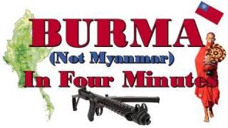 Burma! Myanmar? BURMA!