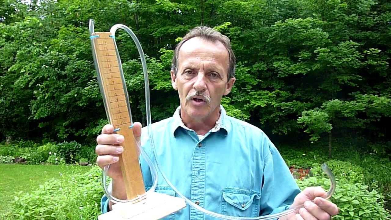 Natural Gas Meter Water Tank Leak Tester