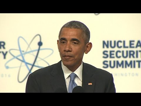 Obama attends summit to prevent nuclear terrorism