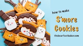 How to Make S'more Cookies