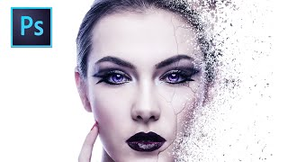 Disintegration Effect: Photoshop Tutorial