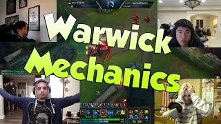 League of Legends Funny Stream Moments #36 -WARWICK MECHANICS!