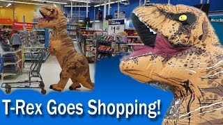 T-Rex goes Shopping