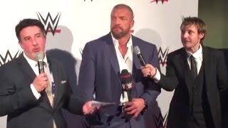 WWE : Triple H à Paris pour le WrestleMania Revenge (INTERVIEW)