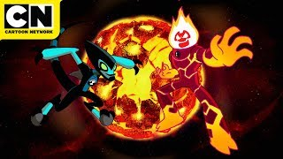 Alien World Shorts: The Fast and the Fiery | Ben 10 | Cartoon Network
