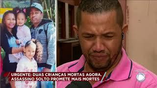 Duas crianças são assassinadas e pai é o suspeito