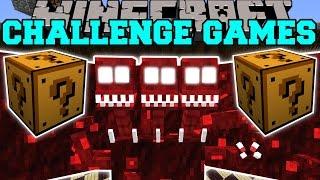 Minecraft: DREADBEAST CHALLENGE GAMES - Lucky Block Mod - Modded Mini-Game