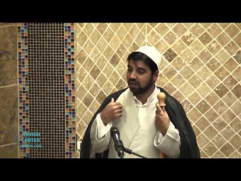 Jumah Khutbah 11:20:2015 Mualana Muffazal Ali
