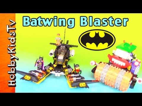 LEGO Emmet, Joker, Batman, Batwing Blaster! [Toy Review] [Box Open] [Robin] [Bat Girl] (76013)