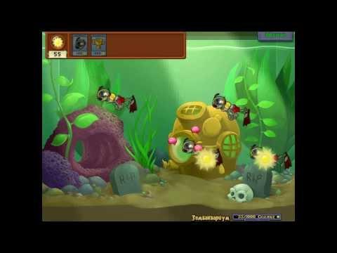 Прохождение Plants Vs Zombies от Диза - 16 часть
