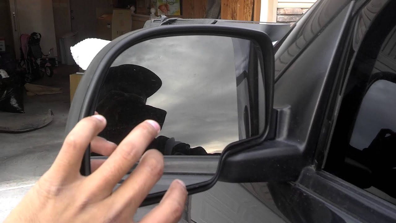 Chevy Silverado Tow Mirrors Install Part 1 Youtube