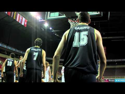 FIBAU19 - Argentina v Russia post game interview
