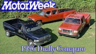 1996 Dually Pickup Shootout   Retro review