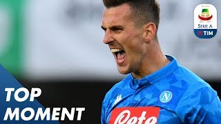 Milik strike confirmed Chievo's relegation  | Chievo 1-3 Napoli | Top Moment | Serie A