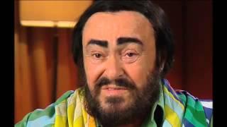 Luciano Pavarotti Video - Luciano Pavarotti interview - farewell tour - Australia