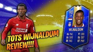 FIFA 19 TOTS WIJNALDUM REVIEW!!! THE BEST CM IN THE PREM?! FIFA 19 Ultimate Team