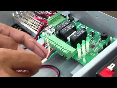Door Access Control System - Part 1: Installing EM-Lock & BIOXCESS Reader