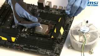 MSI® HOW-TO Install Intel LGA 2011-3 CPU