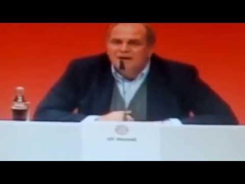 Erstes  Interview von Uli Hoeneß aus der JVA..;-)