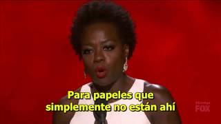[SUBS ESPAÑOL] Discurso de Viola Davis - Emmy mejor actriz de drama (2015)