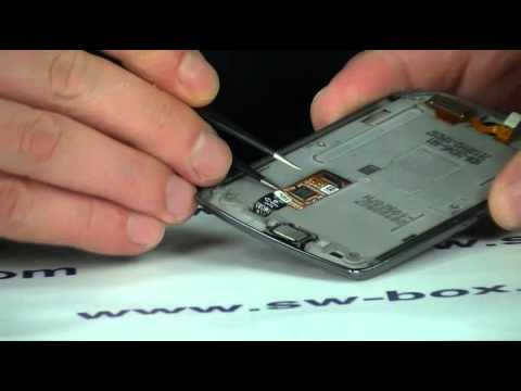 How to Change Blackberry Torch 9800 LCD Screen