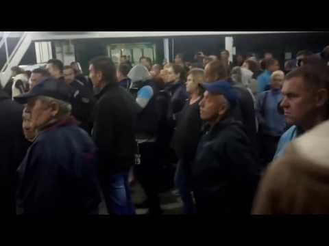 Европа встречает первых безвизовых побратымов с украины!