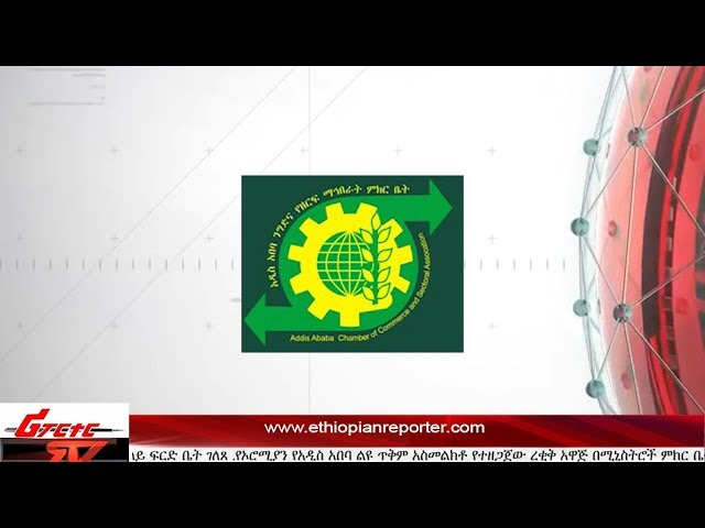 ETHIOPIAN REPORTER TV |  Amharic English News 01/27/2016
