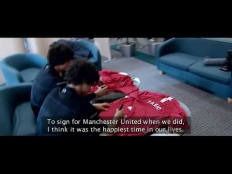 Fabio and Rafael Da Silva Interview - Manchester United
