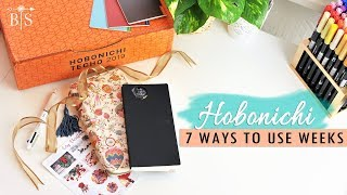 7 WAYS to use HOBONICHI WEEKS in 2019   Unboxing (sort of😄)