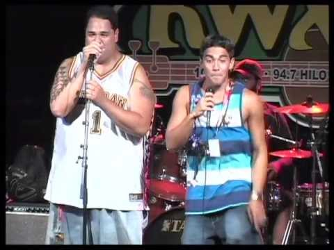 18th Annual Kwxx Ho`olaule`a - Natural Vibrations & Roman put A Little Love video